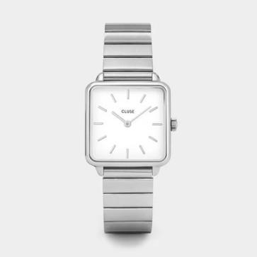 Cluse La Tétragone Single Link Silver/White