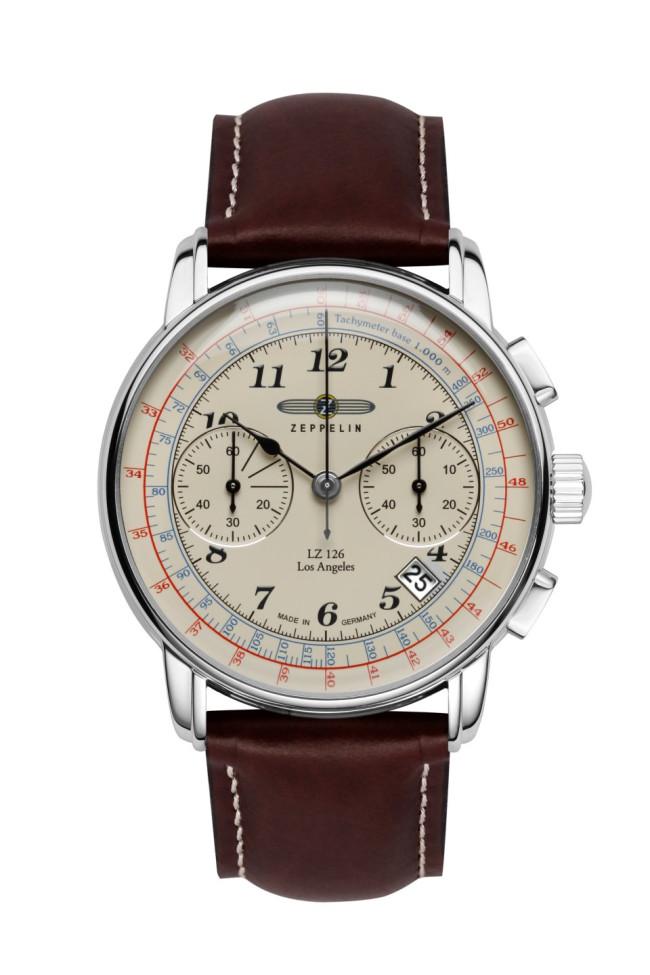 ZEPPELIN Zeppelin Quartz Watch Analog Leather Used #C2B1