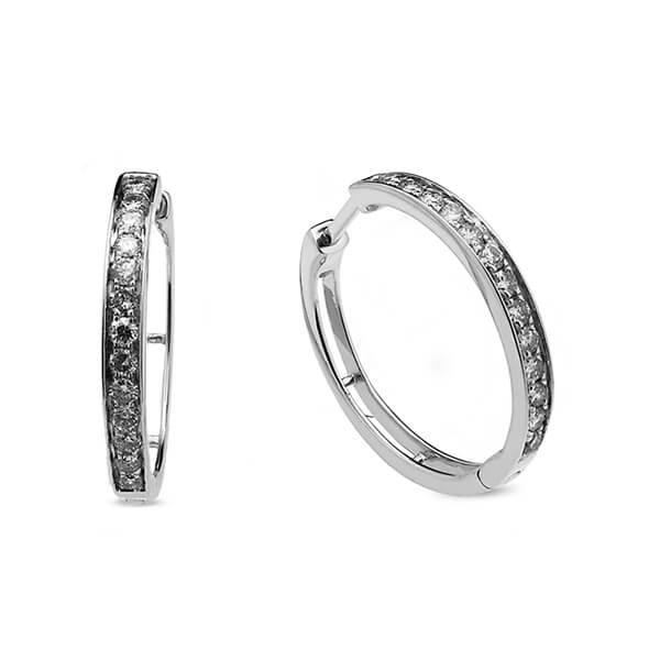 52688ac8f649 Pendientes Pendientes oro blanco y diamantes 0