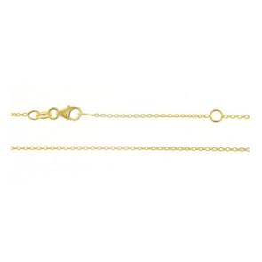 Cadena Oro Amarillo 18 Qtes 40 cm