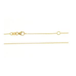 Cadena Oro amarillo 18 Qtes 45cm