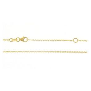 Cadena Oro Amarillo 18 Qtes 50 cm