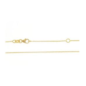 Cadena Oro amarillo 18 Qtes 50cm