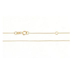 Cadena Oro amarillo 18 Qts 45cm