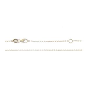 Cadena Oro blanco 18 Qtes 40cm