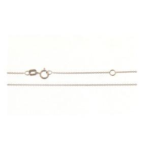 Cadena Oro blanco 18 Qtes 42cm