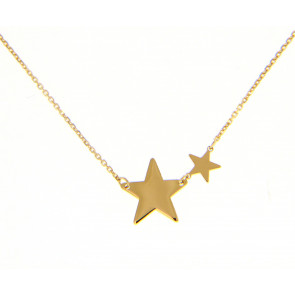 Colgante Oro 2 Estrellas