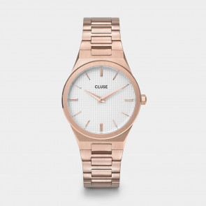 Vigoureux H-Link Rose gold Snow White/Rose Gold