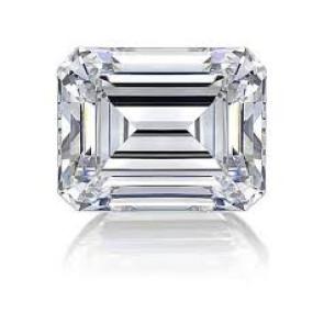 Diamante talla Esmeralda 1,010 Ctes G-VS2