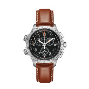 HAMILTON KHAKI X-WIND GMT CHRONO QUARTZ